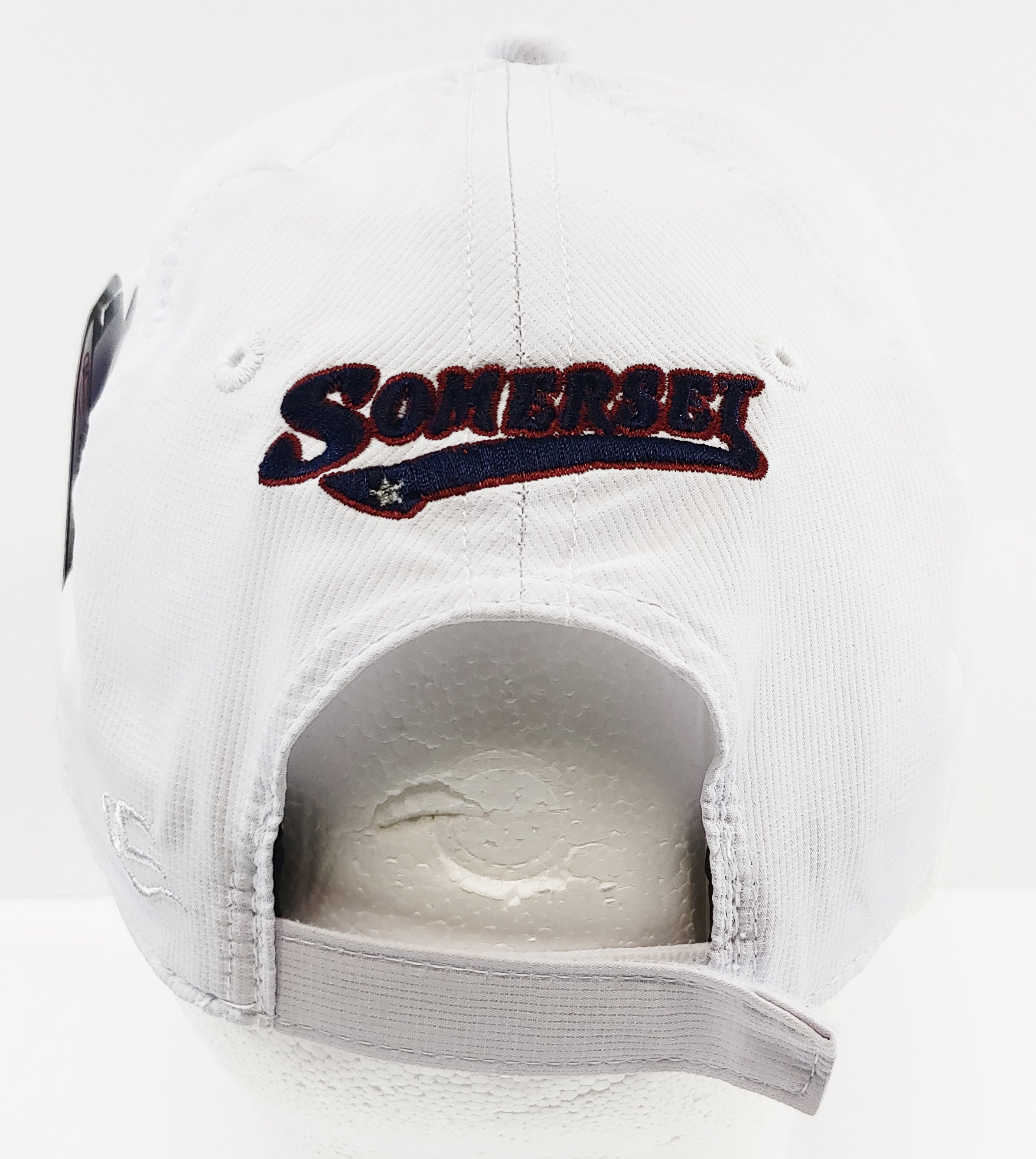 Lightweight White Performance Adjustable Cap
