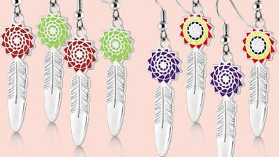 Birthstone Feathers