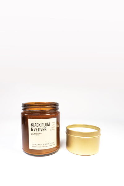 BLACK PLUM & VETIVER (Travel)