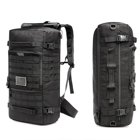Compact Modular Style 3 Day Tactical Backpack, 50L