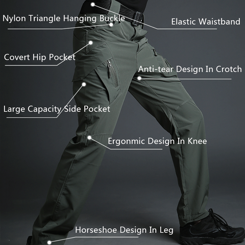 Best Tactical Pants of 2020 - Archon IX9 Lightweight Stretch Pants