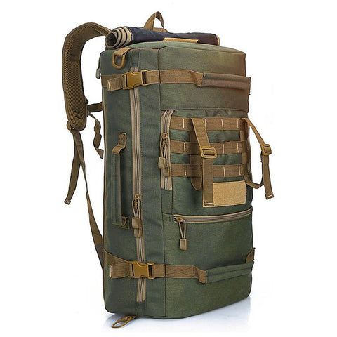 ARMY GREEN Compact Modular Style Backpack - Best Tactical Backpacks of 2020