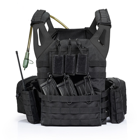 Black Elite Tactical Strike Force Plate Carrier - Best Tactical Vests 2020
