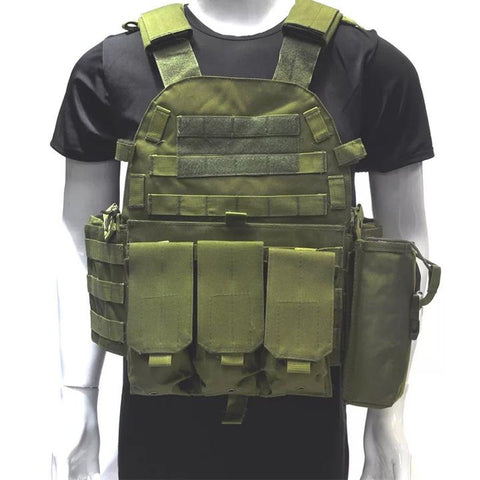 GREEN Outlife USMC Airsoft Military Tactical Vest - Best Tactical Vests 2020