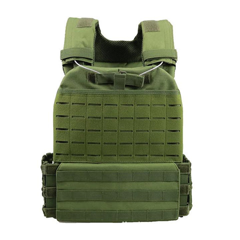 Green Taclite MOLLE Defense Plate Carrier - Best Tactical Vests 2020