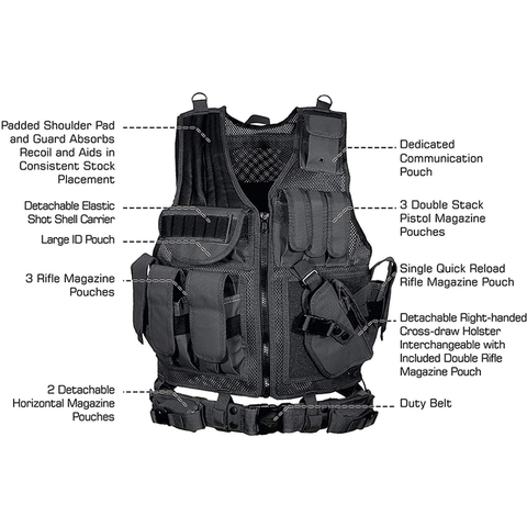 Law Enforcement Tactical Vest - Best Tactical Vests of 2020