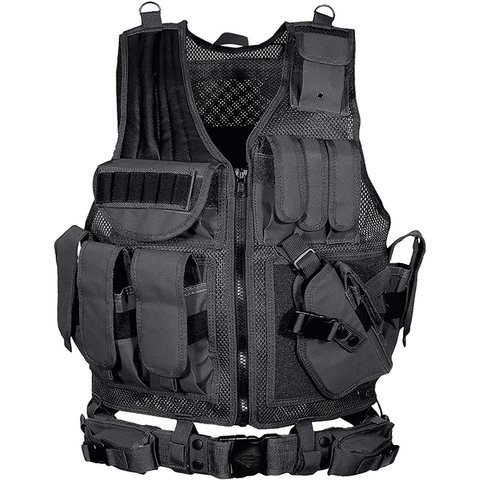 Black Law Enforcement Tactical Vest - Best Tactical Vests 2020