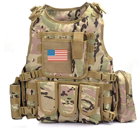 MULTICAM Modern Elite Tactical Vest - Best Tactical Vests 2020