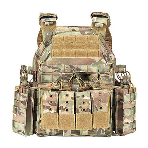 MULTICAM Modular Rapid Assault Tactical Vest - Best Tactical Vests 2020