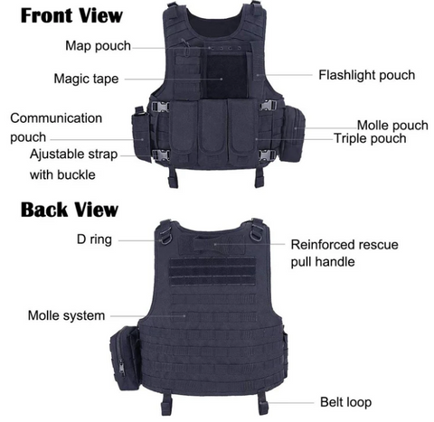 Modern Elite Tactical Vest - Best Tactical Vests 2020