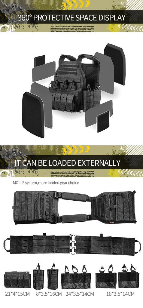 Modular Rapid Assault Tactical Vest - Best Tactical Vests of 2020