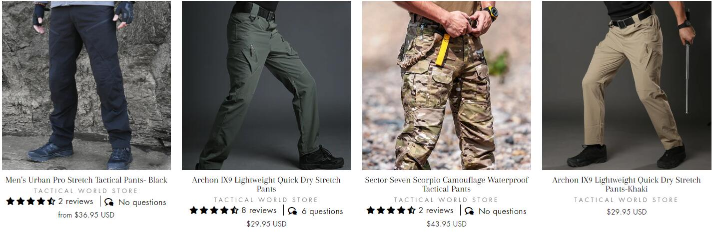 where to buy tactical pants