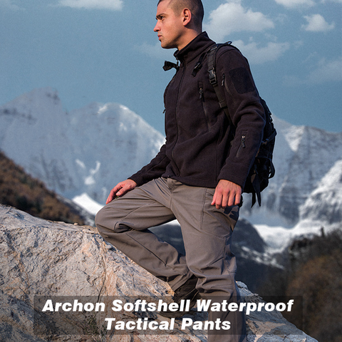 Best Tactical Pants of 2020 - Softshell Waterproof Tactical Pants