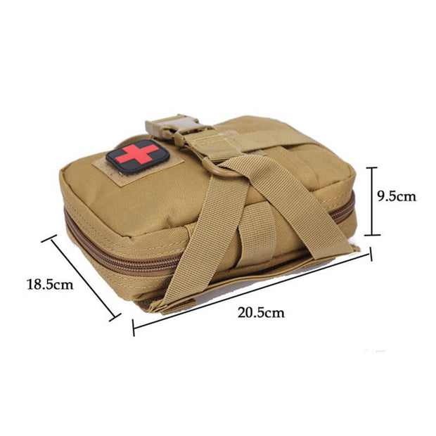 1000D Nylon Tactical Molle Pouch For Dog Harness Vest