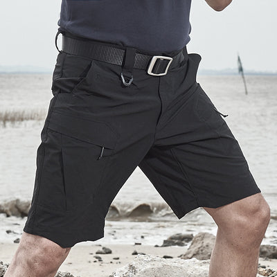 Archon Quick Dry Tactical Stretch Shorts - Black