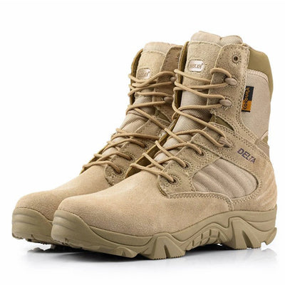 Delta Tactical Boots Light Duty Brown Military Boots