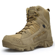 Men's High-top Tactical Outdoor Boots Lightweight Military Boots