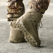 Men's High-top Tactical Outdoor Boots