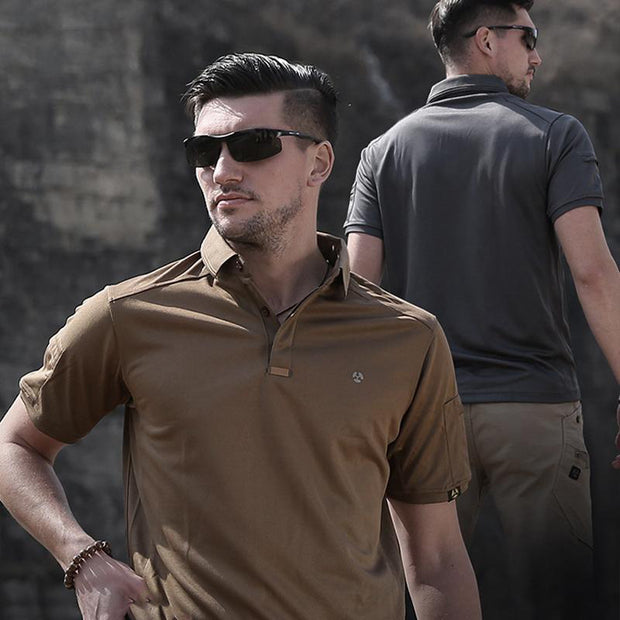 Archon Moisture Wicking Performance Tactical Polo
