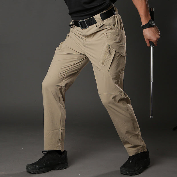 Archon Men's IX9 Khaki Tactical Pants Lightweight Quick Dry Stretch Pants
