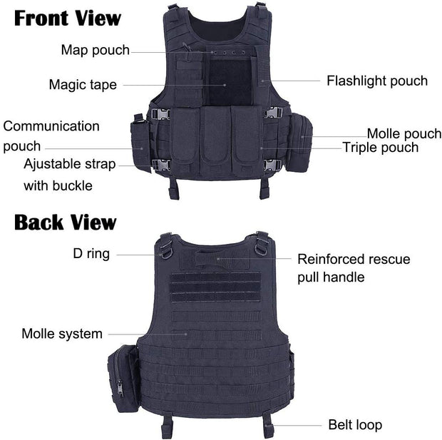 Modern Elite Tactical Vest