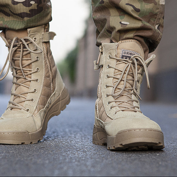 Military Combat Boots Lightweight Tactical Boots