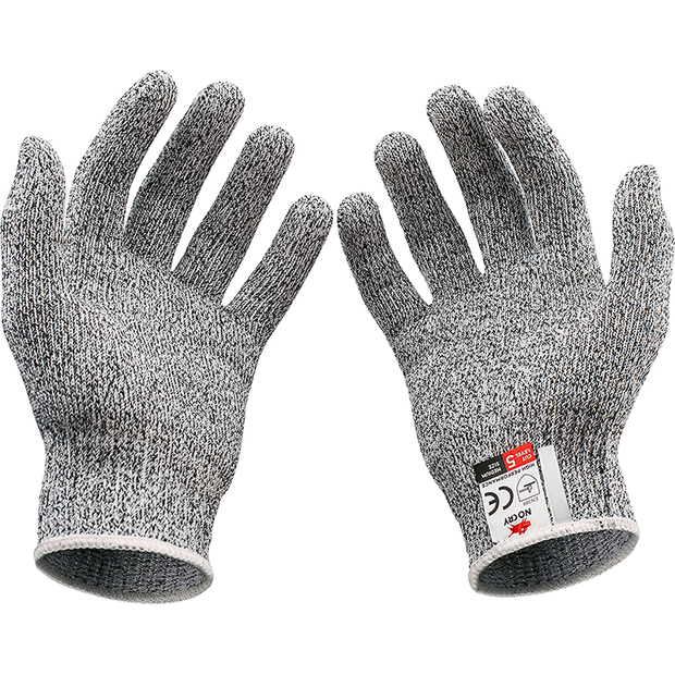 Cut Resistant Gloves - Ambidextrous, Food Grade, High Performance
