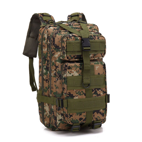 Lightweight Tactical Backpack Woodland Digital Military Backpack