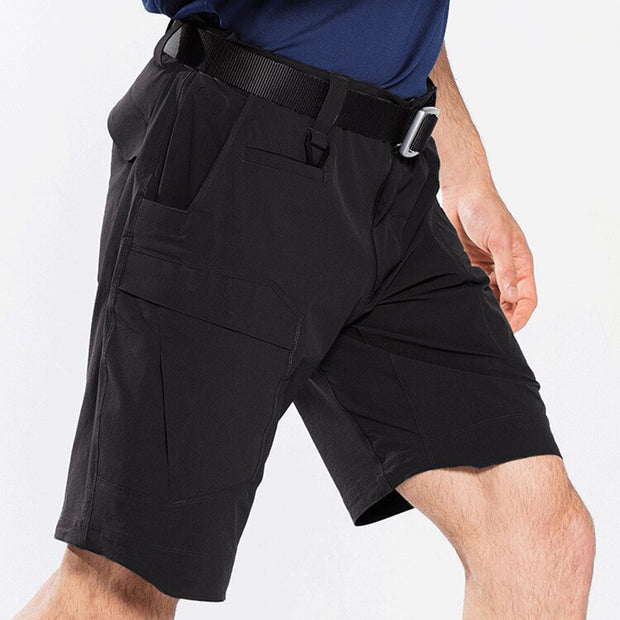Archon Quick Dry Black Tactical Shorts