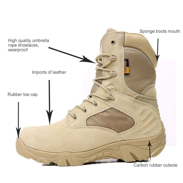 Delta Tactical Boots Light Duty Military Boots