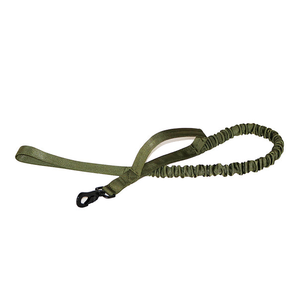 Adjustable Tactical Dog Collar with Leash, 1.5'' Width Nylon Military Training Dog Collar