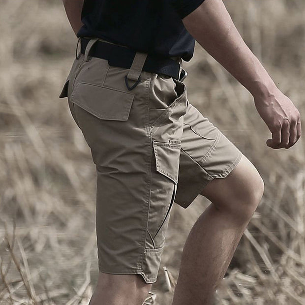 Urban Pro Waterproof Tactical Shorts - Khaki