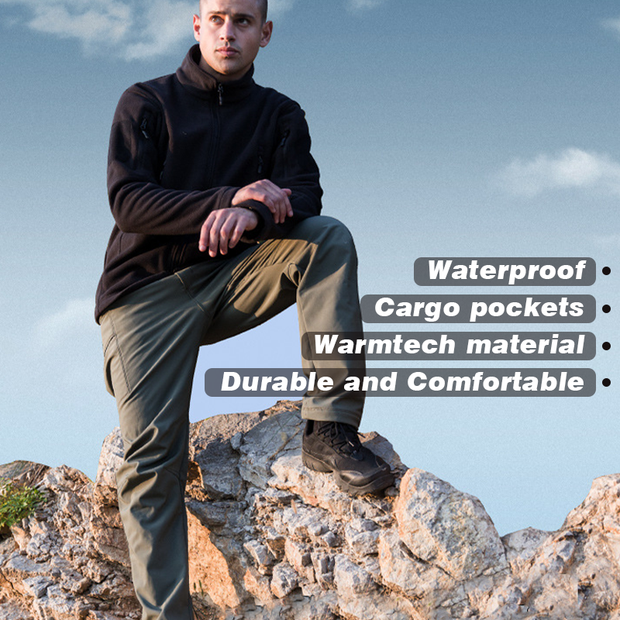 Archon Softshell Waterproof Tactical Pants for Winter