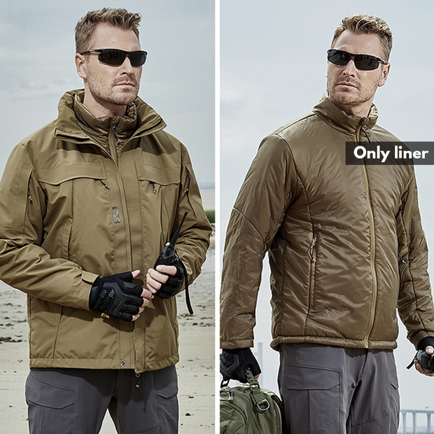 Archon 3-in-1 Waterproof Tactical Coat Jacket For Winter
