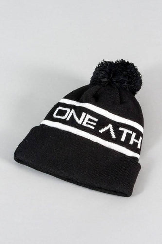 Beanie Hat – Black/White