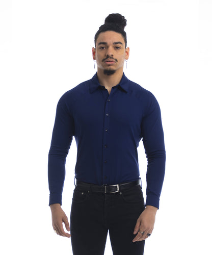 Performance Dress Shirt - Navy