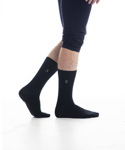 Performance Dress Socks - Black