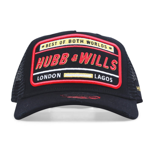 Best of Both World Patch Trucker Hat