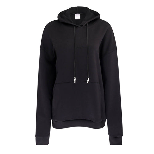 Sheen London black embroidered hoody