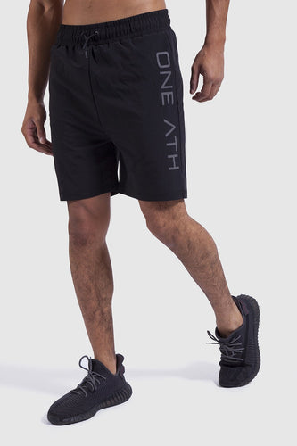MTech training shorts for men in black
