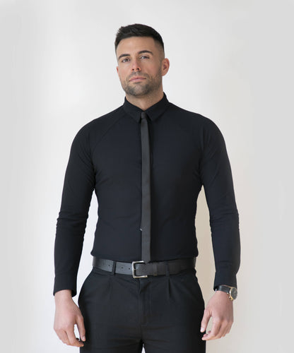 Performance Dress Shirt - Black