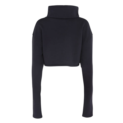 Sheen London roll neck jumper navy