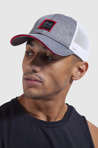 Trucker Cap - Grey/White