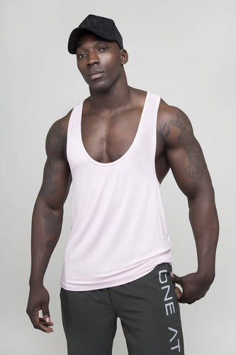 Cali Stringer Vest - Dusty Pink