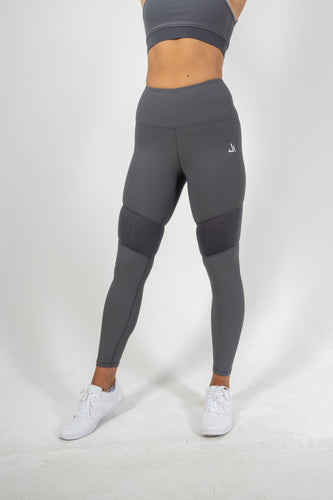 Grey Synergy High Waist Leggings