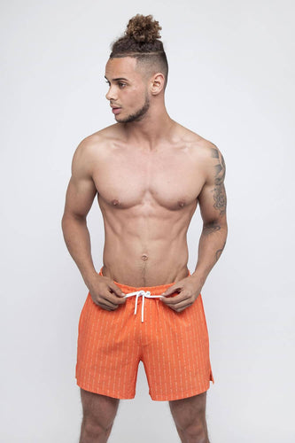 Amarillo Swim Shorts – Orange