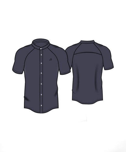 Performance Short Sleeve Shirt - Navy