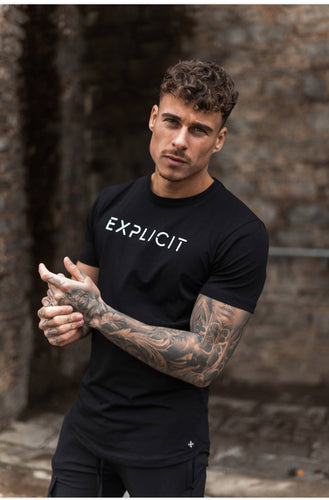 Black daymer explicit tee
