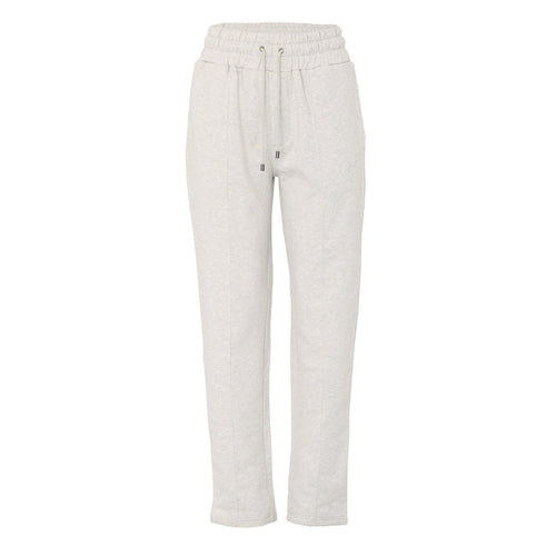 Womens melange grey joggers