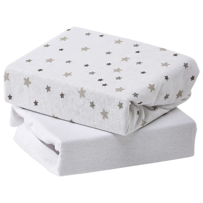 Baby Elegance Jersey Fitted Sheet Moses Basket - Happy Baby